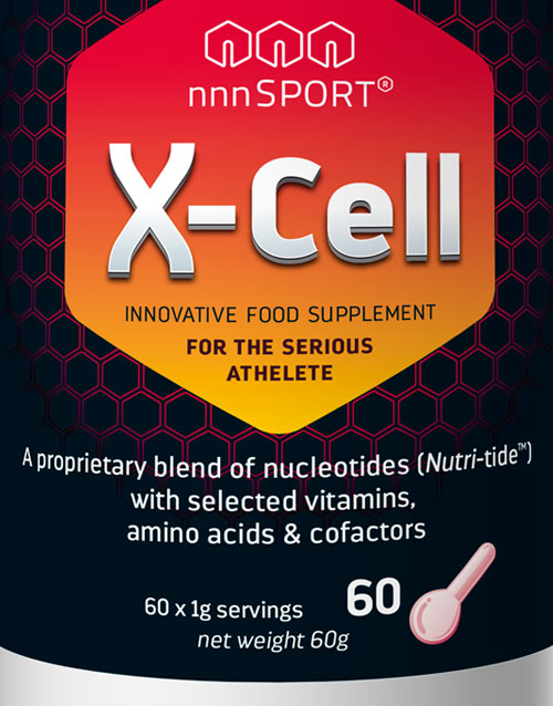 nnnSPORT X-Cell Single Pack Label Front 002 60g