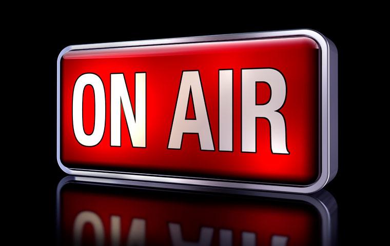 On air radio light